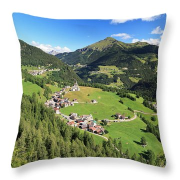 Laste - Val Cordevole Throw Pillow
