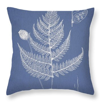 Lastrea Pulvinulifera Throw Pillow by Aged Pixel
