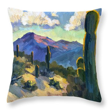 Cacti Throw Pillows
