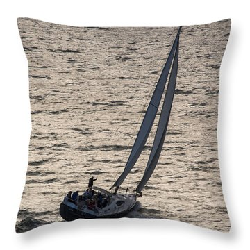 Late Day Easy Breeze Throw Pillow