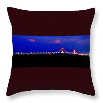 Throw Pillow featuring the photograph Late Night Big Mac by Daniel Thompson