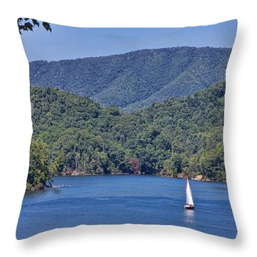 Late Summer Cruising  Throw Pillow