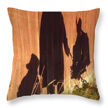 Throw Pillow featuring the photograph Late Summer Walk by Martin Howard