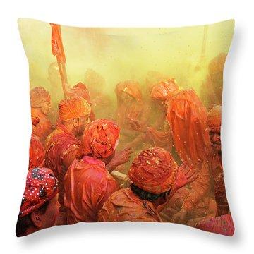 India Throw Pillows
