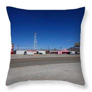 Lathrop Wells Nevada Throw Pillow by Frank Romeo