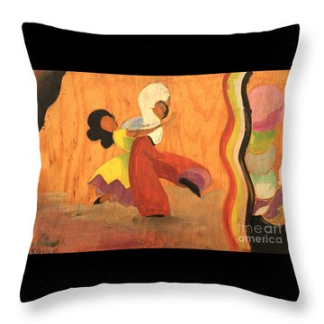 Latin Dancers 1938 Throw Pillow