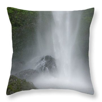 Latourelle Falls 2 Throw Pillow