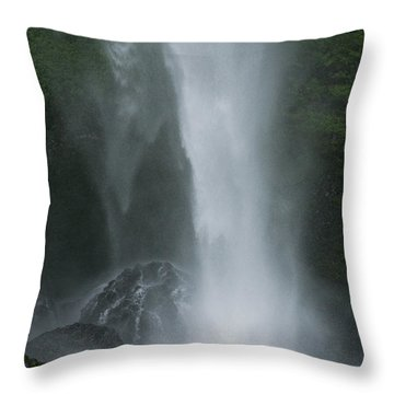 Latourelle Falls 5 Throw Pillow