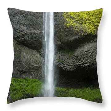 Latourelle Falls Throw Pillow