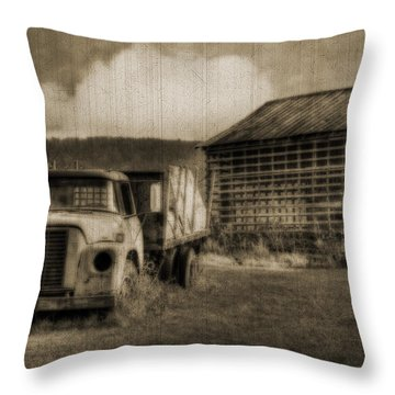 Latsha Lumber Company Throw Pillow