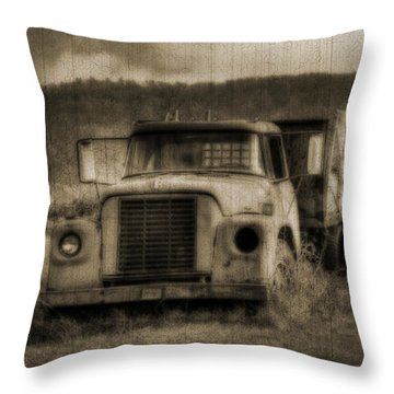 Latsha Lumber Company Throw Pillow