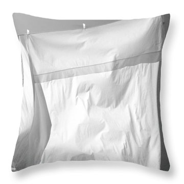Laundry 9 Throw Pillow