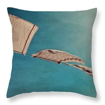 Laundry Day Throw Pillow by Priska Wettstein