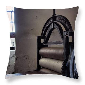 Laundry Press Throw Pillow by Jason Politte