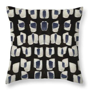 Laura Series Making Marks 545b1 Throw Pillow
