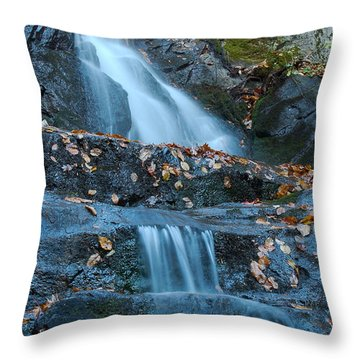 Throw Pillow featuring the photograph Laurel Falls by Patrick Shupert