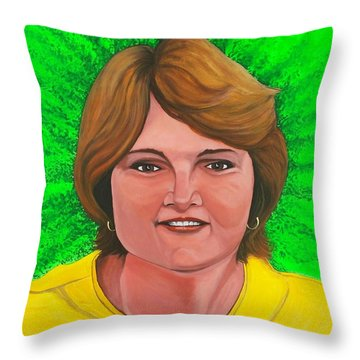 Laurie Pebworth Throw Pillow