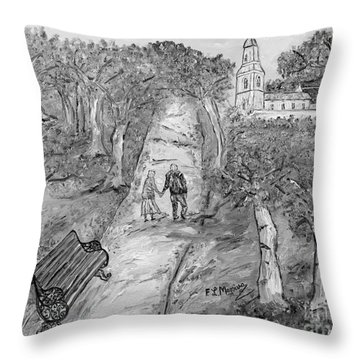 L'autunno Della Vita Throw Pillow