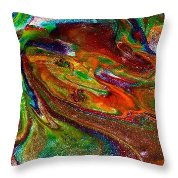 As The World Turns Throw Pillow