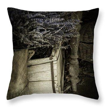 Lavandula Throw Pillow by Amy Weiss