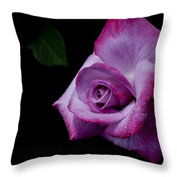 Throw Pillow featuring the photograph Lavendar Lady by Doug Norkum