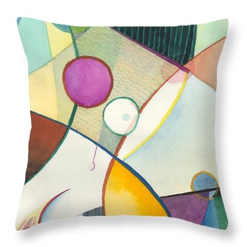 Lavendar Lily Throw Pillow