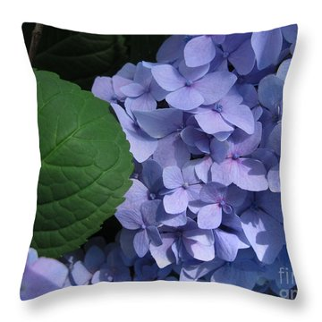 Throw Pillow featuring the photograph Lavender Bouquet by Arlene Carmel