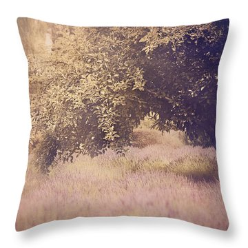 Lavender Dreams Throw Pillow by Amy Weiss
