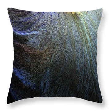 Throw Pillow featuring the photograph Lavender Lady by Ola Allen