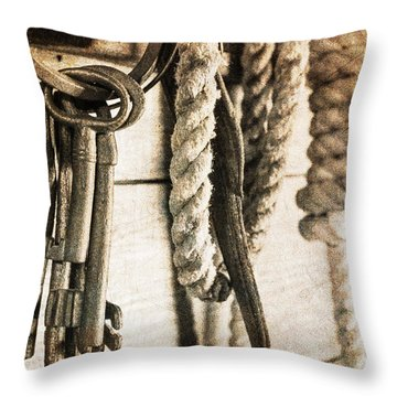 Law And Order Throw Pillow