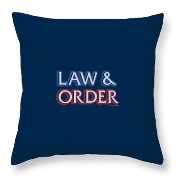 Police Van Throw Pillows