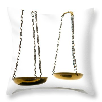 Law Book Throw Pillow