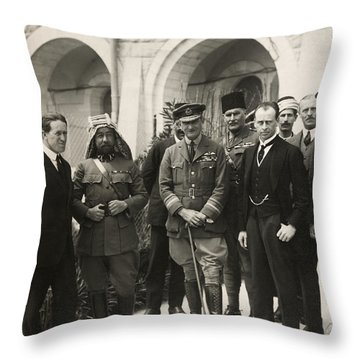 Lawrence Of Arabia Throw Pillow