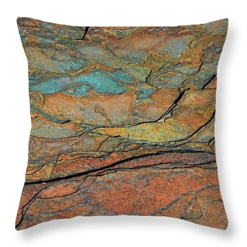 Throw Pillow featuring the photograph Layered by Britt Runyon