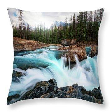 British Columbia Throw Pillows