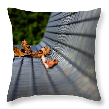 Lazing In The Sun Throw Pillow by Andreas Levi
