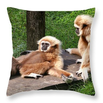 Lazy Life Throw Pillow