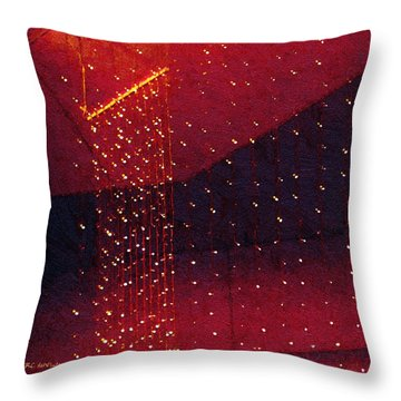 Le Cirque Du Diable Throw Pillow by RC deWinter