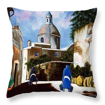 Le Dome Throw Pillow