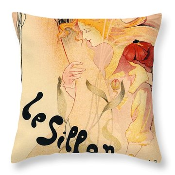 Le Sillon Throw Pillow