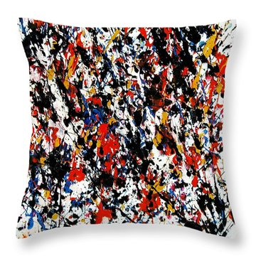 Lead Vocal Throw Pillow