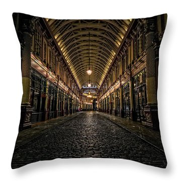 Leadenhall Throw Pillow