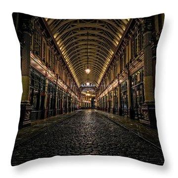 Leadenhall Throw Pillow by Ian Good