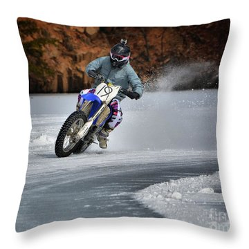 Leader O' Da Pack Throw Pillow