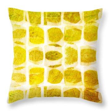 Leaf Impression Throw Pillow