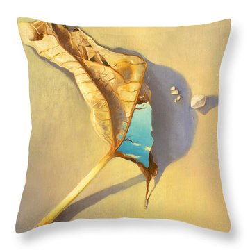 Leaf Of Life Throw Pillow