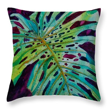 Leaf Throw Pillow