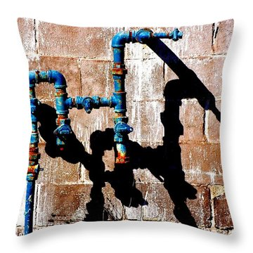 Leaky Faucet II Throw Pillow