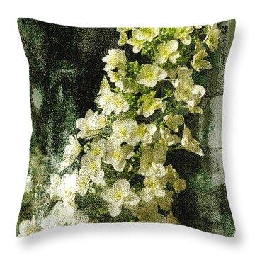 Lean With Me Throw Pillow by Davina Washington