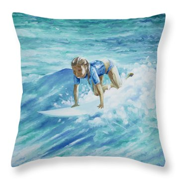 Learning To Fly Throw Pillow